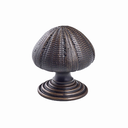 Sea urchin door knob web