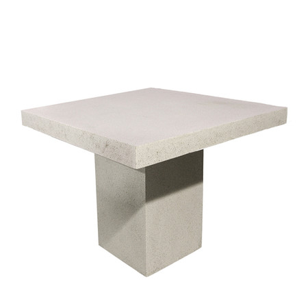 Slab square dining