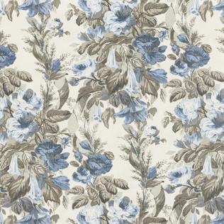 Jasper Fabrics inGrace - Bluebell