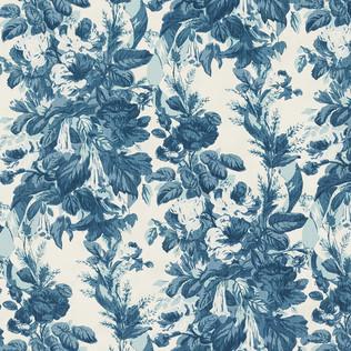 Jasper Fabrics inGrace - Swiss Blue