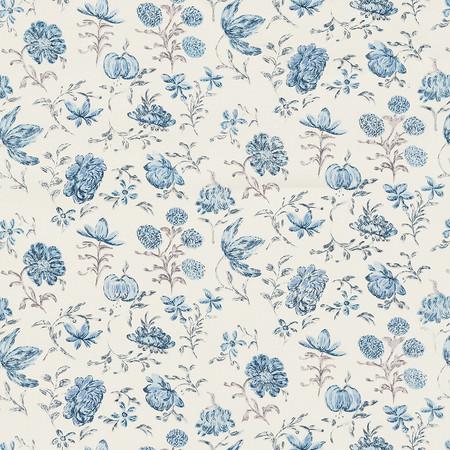 Jasper FabricsBlenheim Sprig - Swiss Blue
