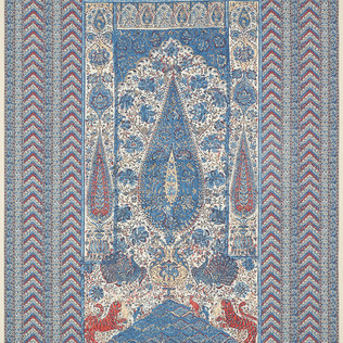 Jasper Fabrics inJaipur Panel Blue