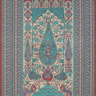 Jasper Fabrics inJaipur Panel Turquoise