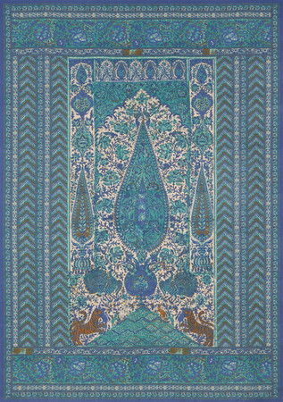 Jasper Fabrics inJaipur Panel Green