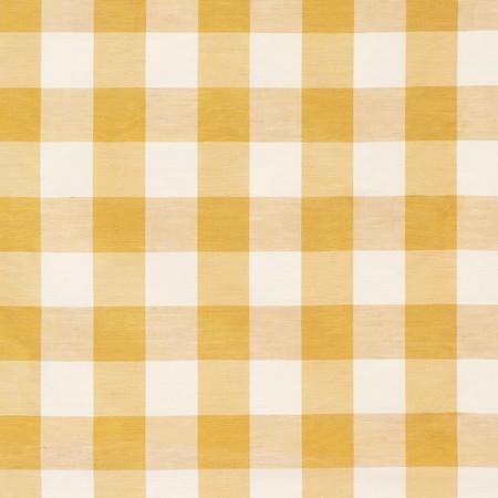 Templeton Fabric in Indore Check - Saffron
