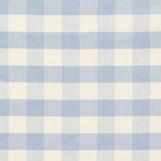 Templeton Fabric inIndore Check - Pale Blue
