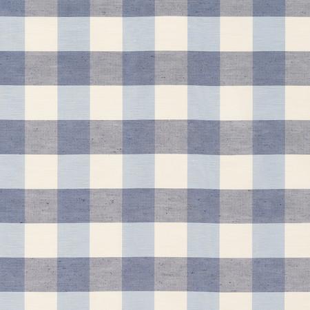 Templeton Fabric inIndore Check - Indigo
