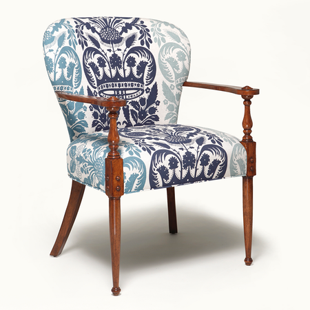 1200 chartwell armchair blue jas