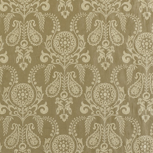 Jasper Fabrics in Zamora - Cream on Tan