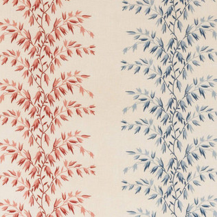 Décors Barbares inRayures Datcha - Red/Blue