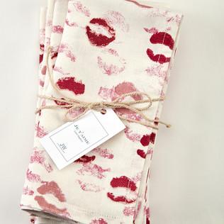 Je t'aime napkins from Jasper Workshop
