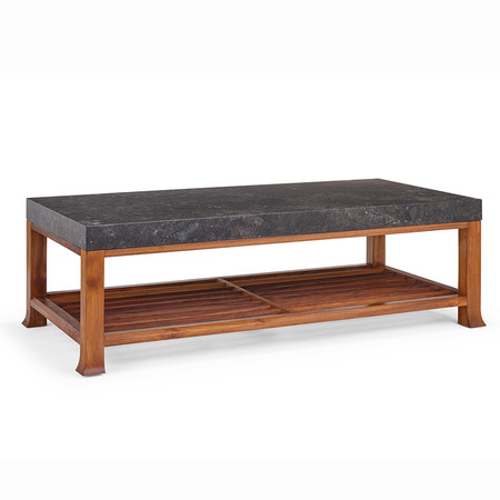 410 3 %e2%80%93 calligraphy coffee table with stone top 002