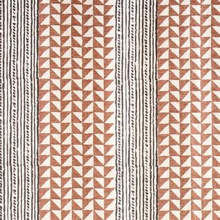 Aegean Stripe - Tabacco/Onyx
