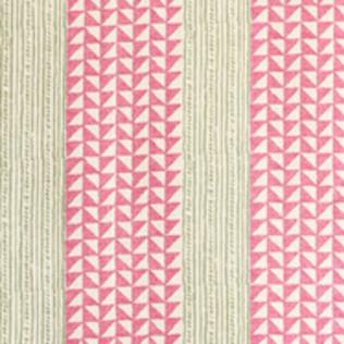 Aegean Stripe - Pink/Green