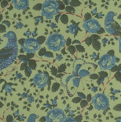 Caledonia grasshopper wallpaper schuyler samperton textiles 400x624