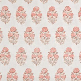 Mughal Flower - Coral