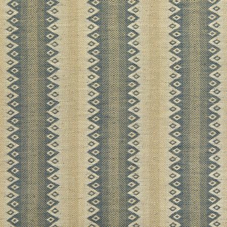 Cothay stripe indigo