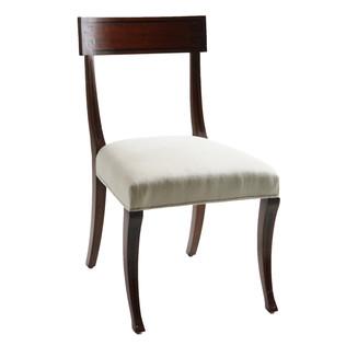 Ebony Inlay Sidechair Jasper Furniture