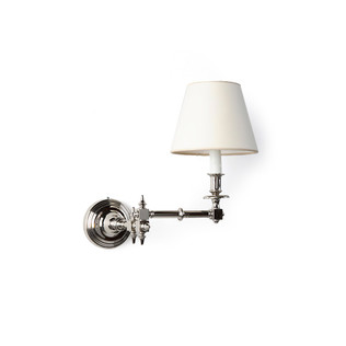 Flores Swing Arm Sconce Jasper Lighting