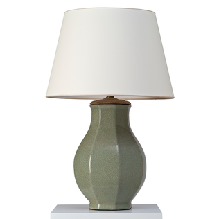 Kingsley Lamp - Dark Celadon Jasper Lighting