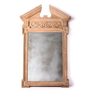 Georgian Pediment Mirror Jasper Furniture