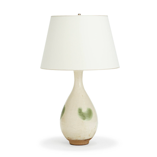 Thorpe Table Lamp - Green Jasper Lighting