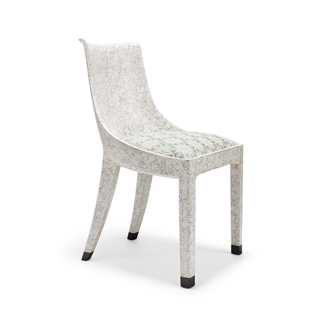 Eggshell Crackle Dining Chair Jasper Furniture