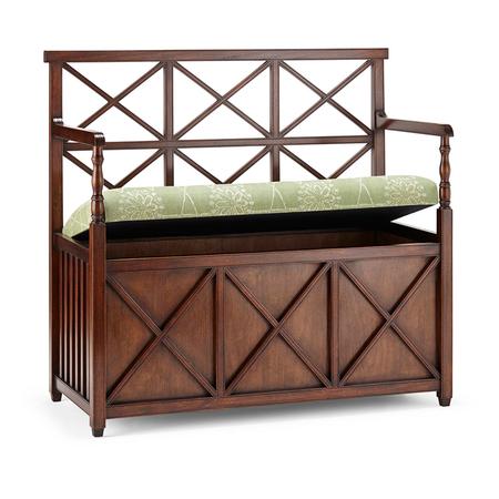 X-Back Bench - Storage Jasper Furniture