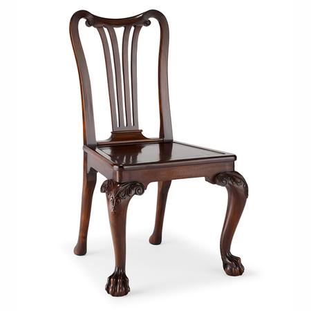 George II Mahogany Sidechair Jasper Furniture