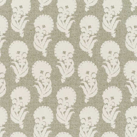 Jasper Outdoor Fabric in Indian Garden - Green