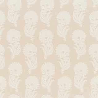 Jasper Outdoor Fabric in Indian Garden - Cream