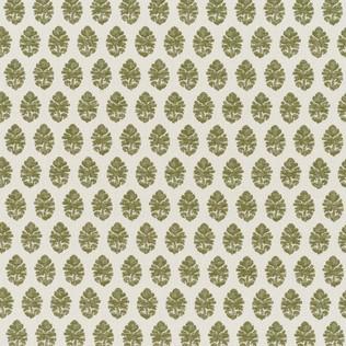 Jasper Outdoor Fabric inIndian Garden Paisley - Green