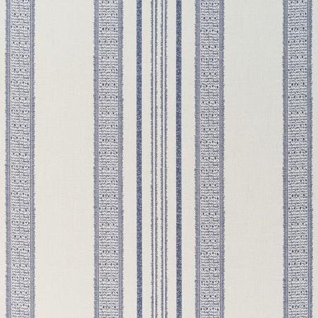 Jasper Outdoor Fabric in Indian Garden Stripe - Indigo