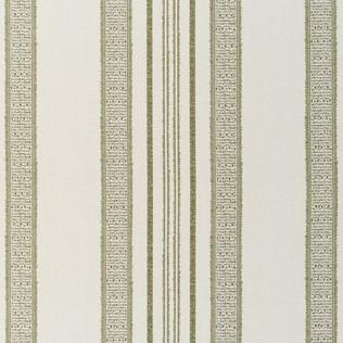 Jasper Outdoor Fabric inIndian Garden Stripe - Green
