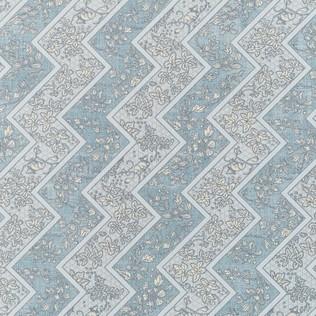 Jasper Fabric Lacquer Stripe - Bluebell