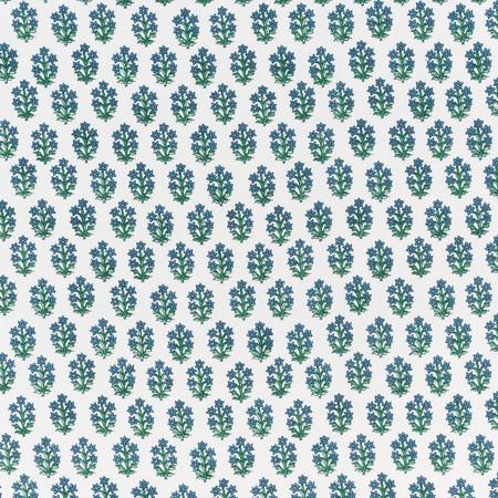 Jasper Fabric Devonshire - Deep Blue/Green