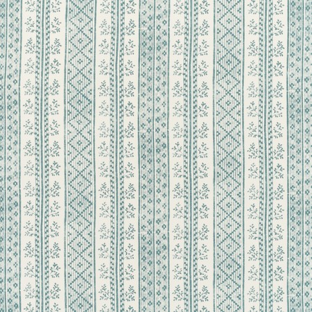 Jasper Fabric Dutch Stripe - Oasis Teal
