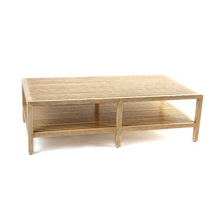 Slatted Ship Coffee Table Jasper furniture