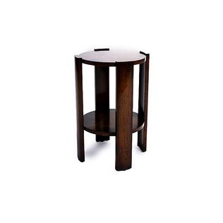 Parker Cigarette Table - 4 Leg/Recessed Top Jasper furniture