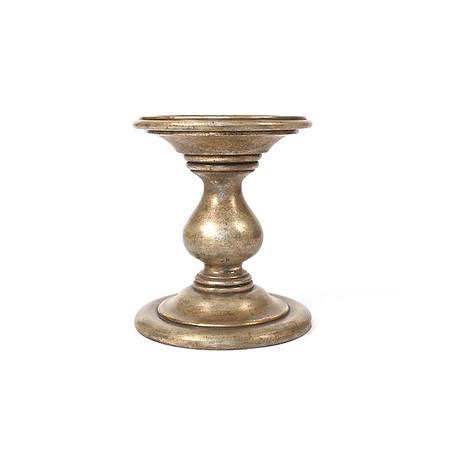 Hudson Side Table - 22K White Gold Jasper furniture