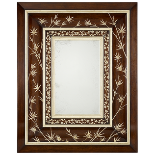 Maxwell Mirror - Faux Ivory Inlay Jasper Furniture