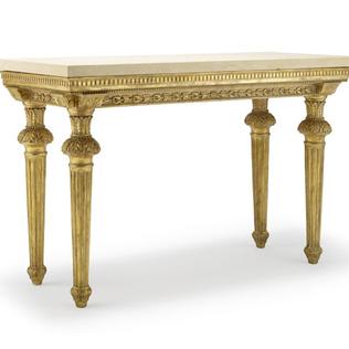 Medici Console - Limestone Top Jasper furniture