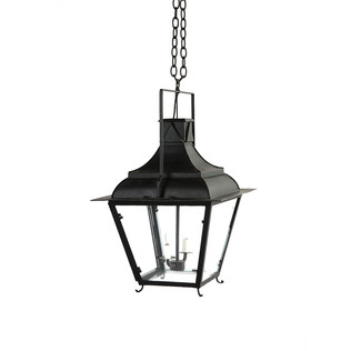 French Tole Lantern - 2 Light Jasper Lighting