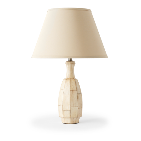 Mark Lamp - Faux Ivory Jasper Lighting
