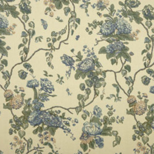 Tree of Life - Blue Jasper Fabric