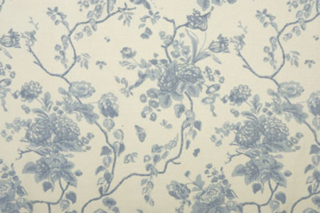 Tree of Life - Pale Blue Jasper Fabric