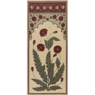 Moghul Panel - Sage Jasper Fabric