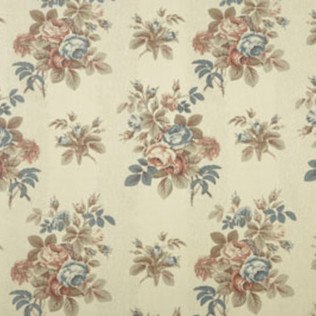 Bentley Rose - Fawn Jasper Fabric