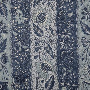 Melaya - Indigo Jasper Fabric