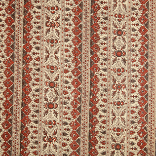 Jammu - Rust Jasper Fabric